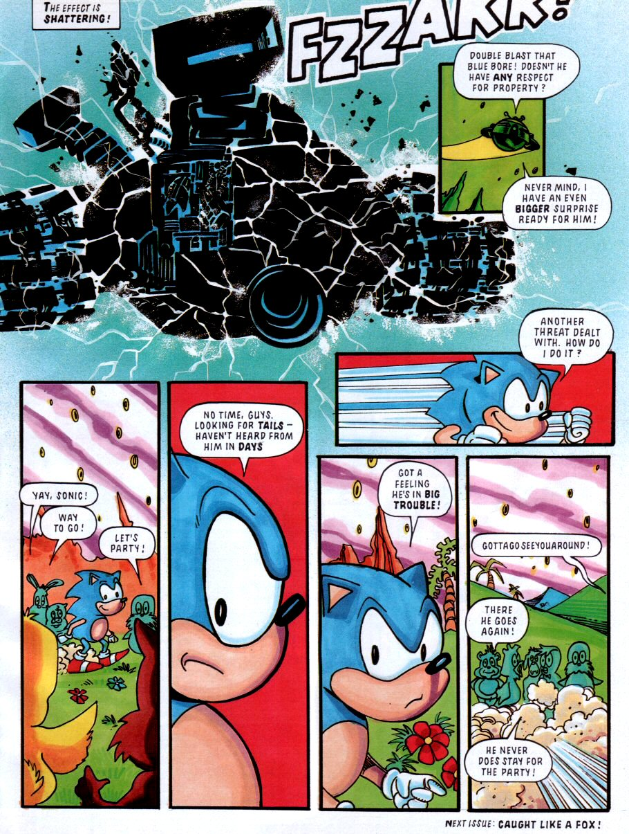 Sonic - The Comic Issue No. 001 Page 8
