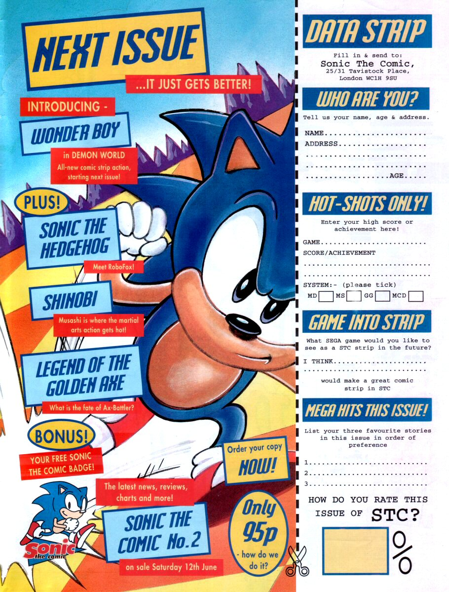 Sonic - The Comic Issue No. 001 Page 30