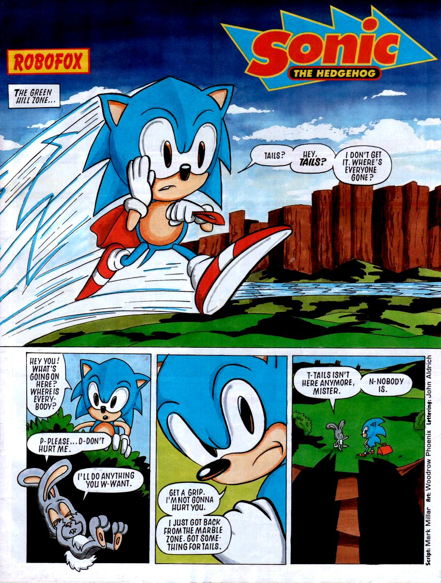Sonic - The Comic Issue No. 002 Page 2