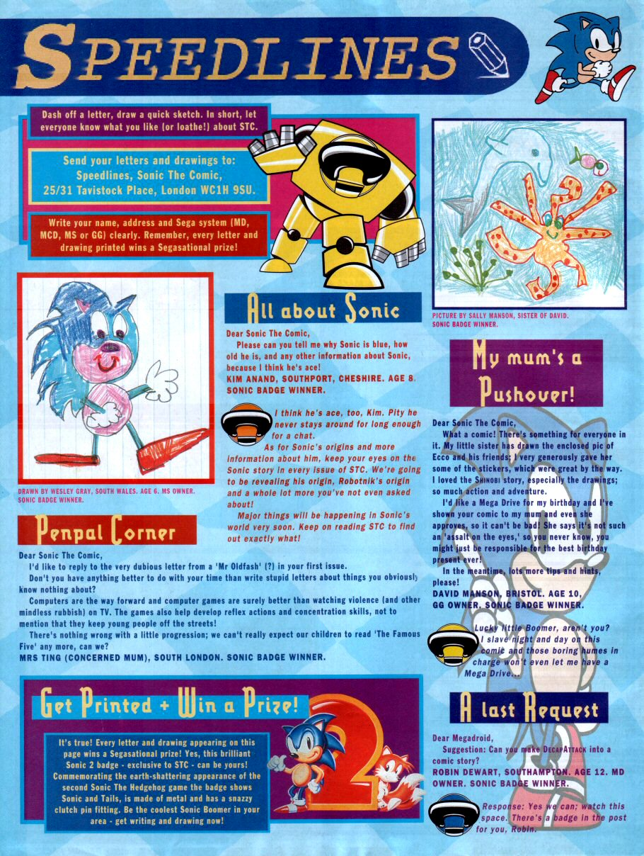Sonic - The Comic Issue No. 002 Page 30