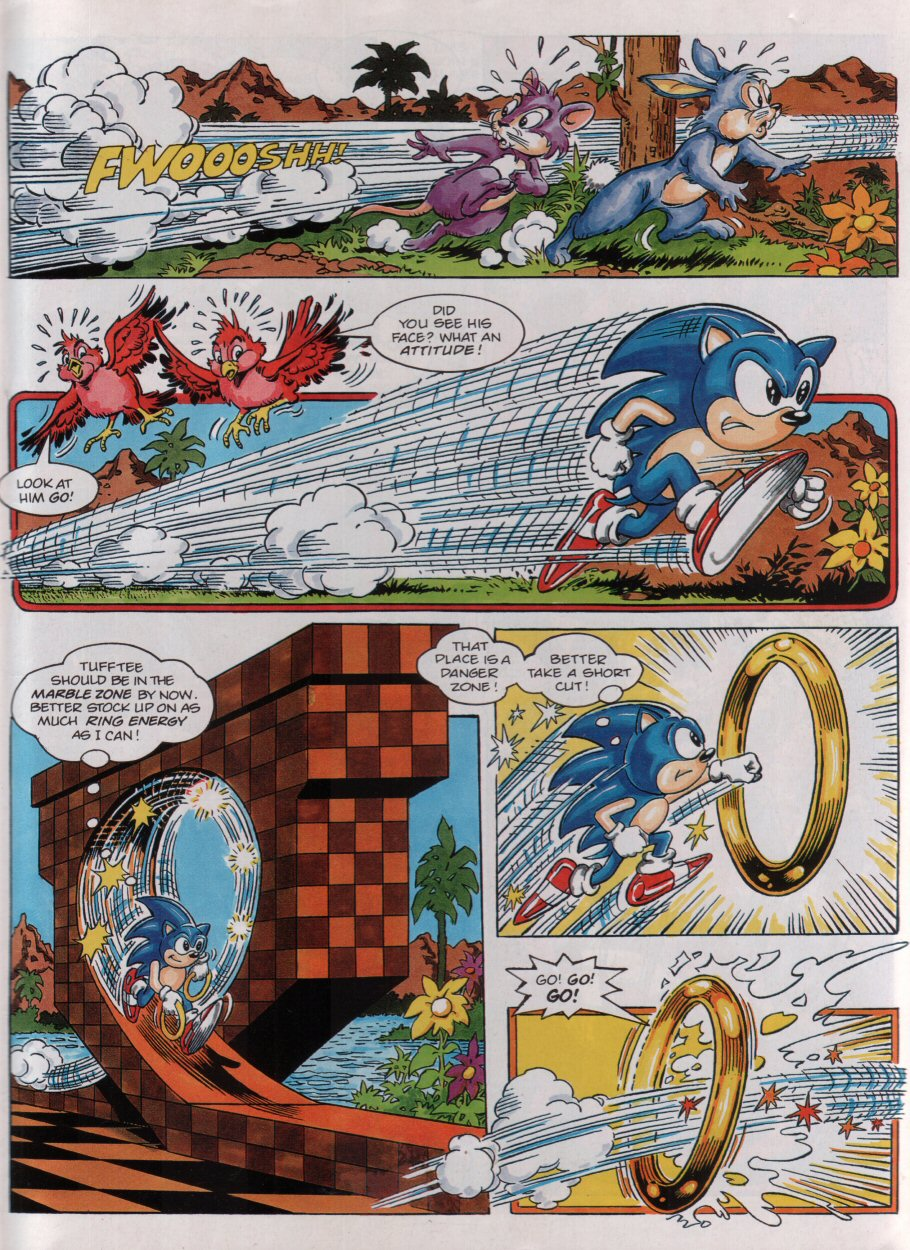 Sonic - The Comic Issue No. 003 Page 4