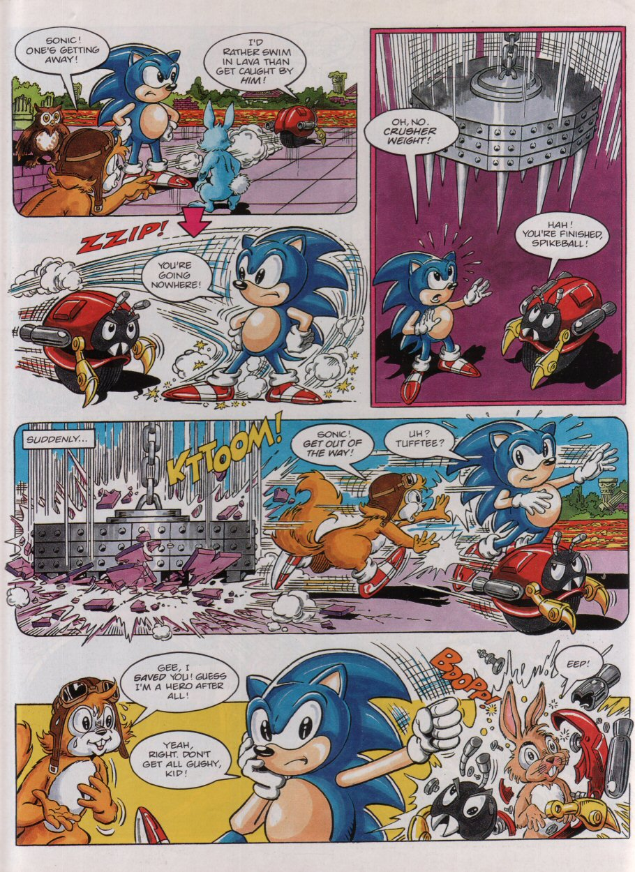 Sonic - The Comic Issue No. 003 Page 7