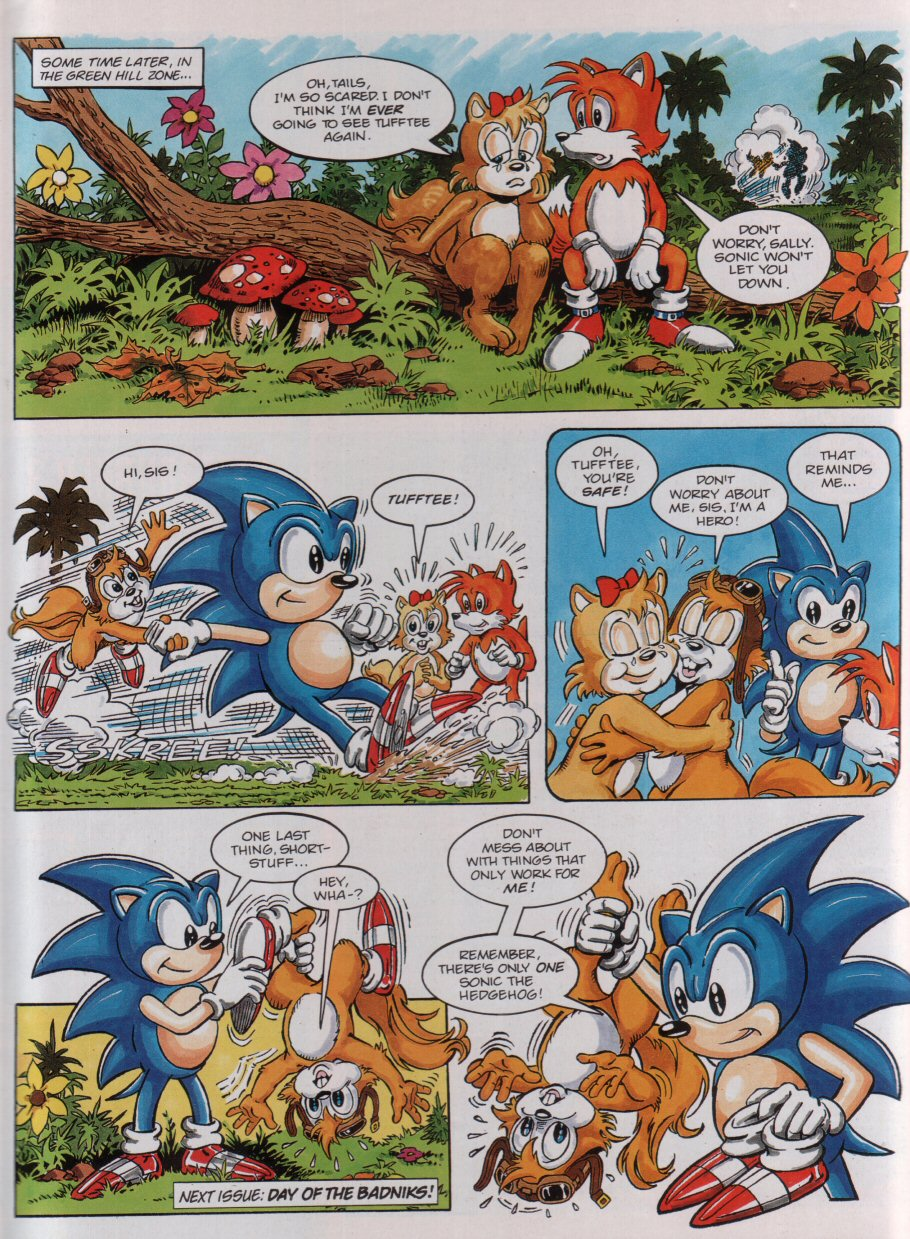 Sonic - The Comic Issue No. 003 Page 8