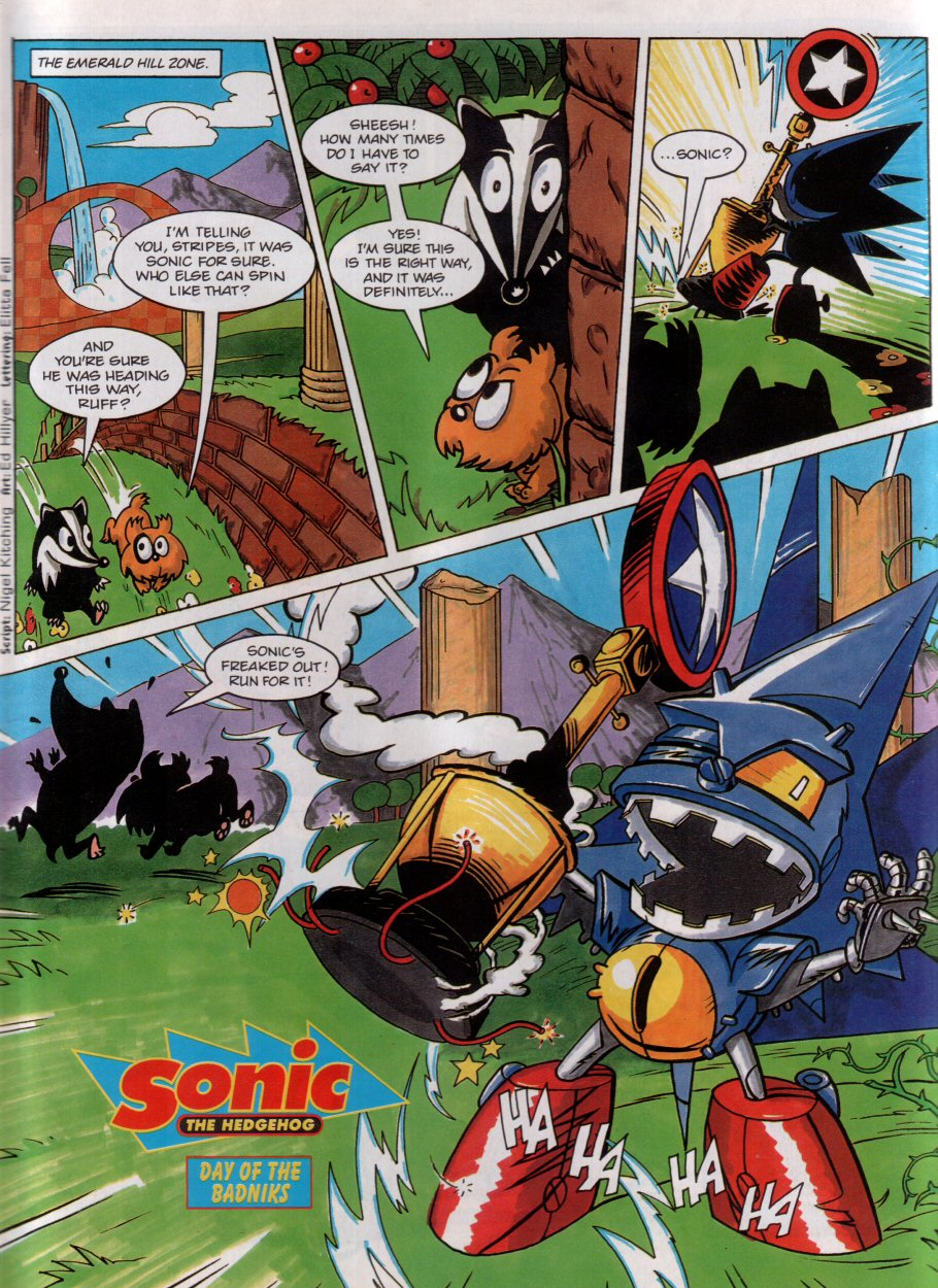 Sonic - The Comic Issue No. 004 Page 2