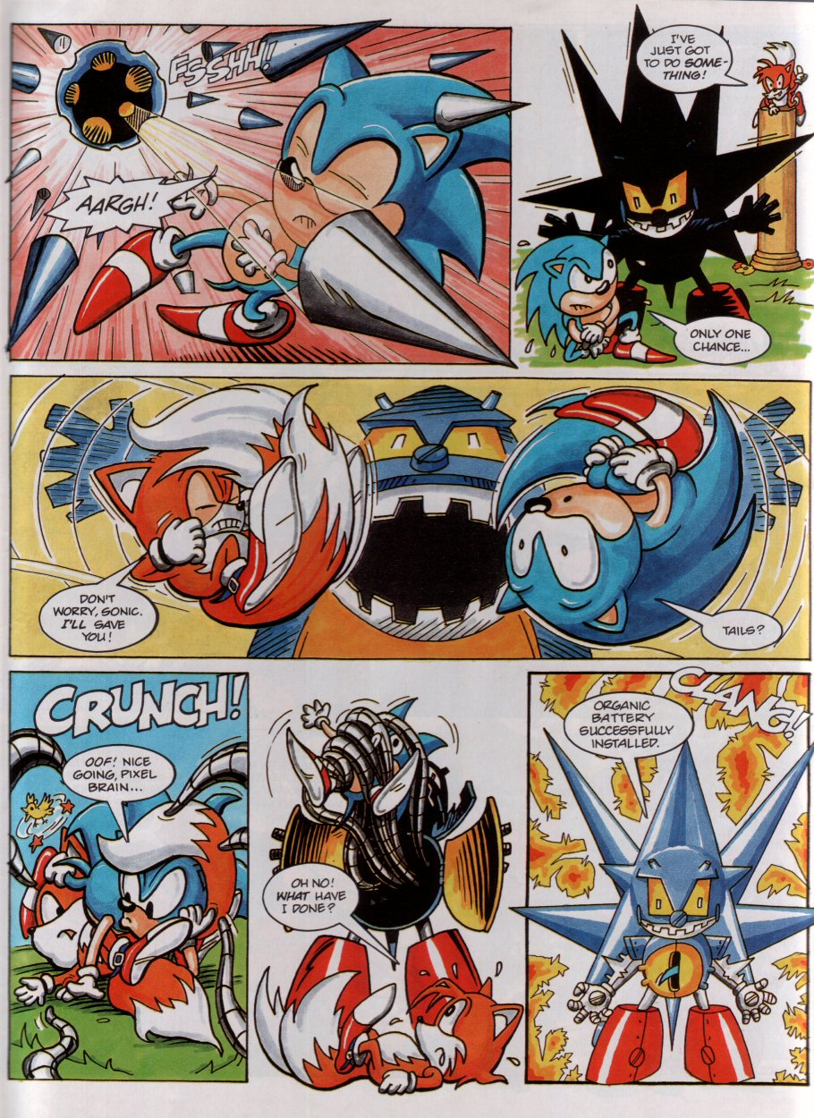 Sonic - The Comic Issue No. 004 Page 6