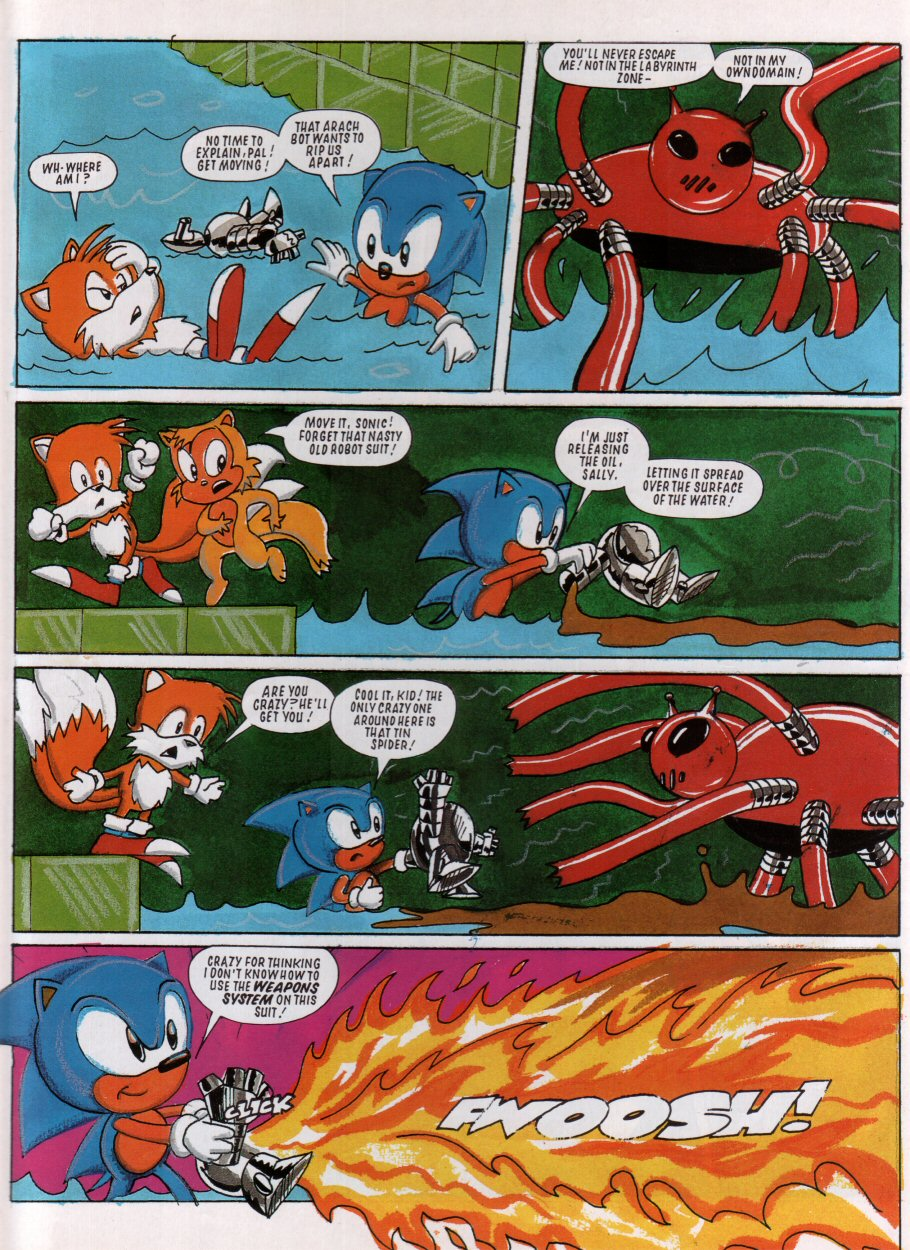Sonic - The Comic Issue No. 005 Page 7