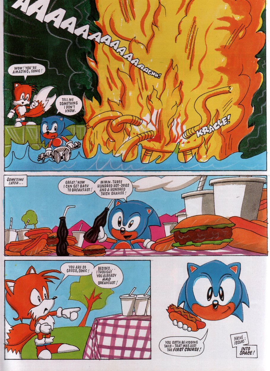 Sonic - The Comic Issue No. 005 Page 8