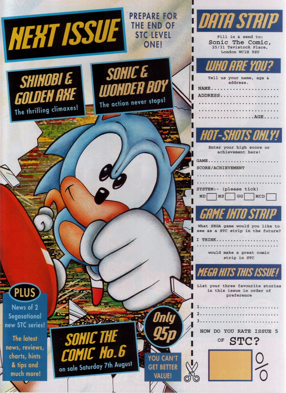 Sonic - The Comic Issue No. 005 Page 31