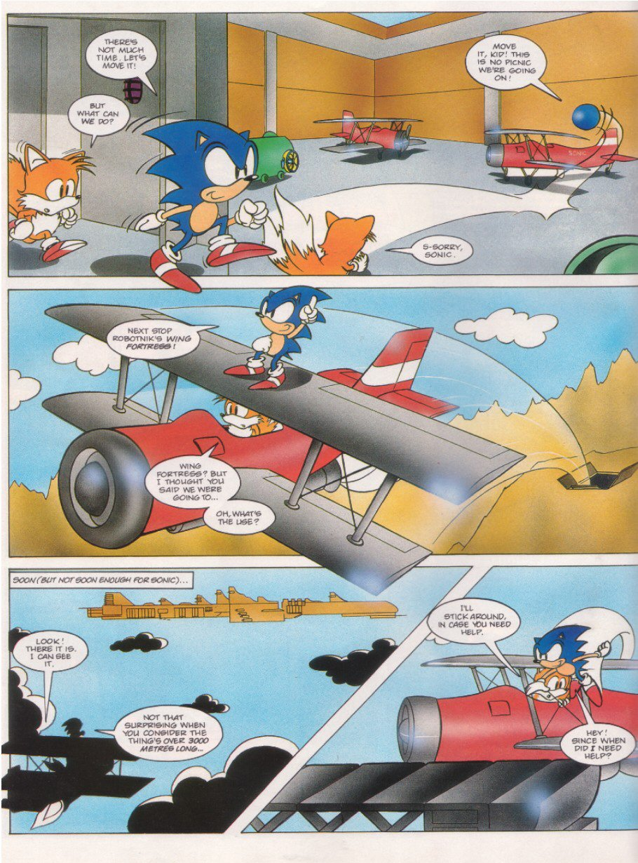 Sonic - The Comic Issue No. 006 Page 3