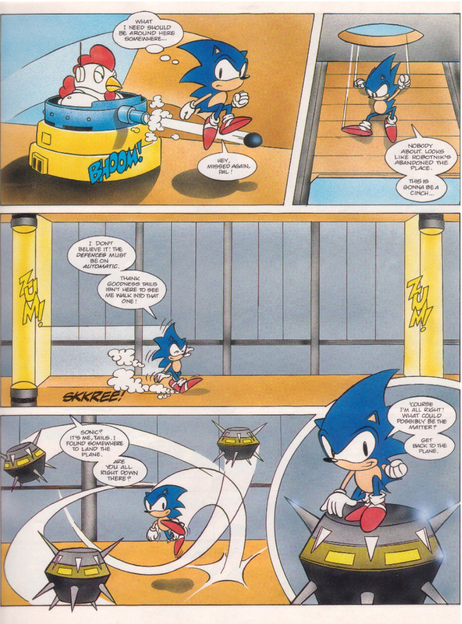 Sonic - The Comic Issue No. 006 Page 4