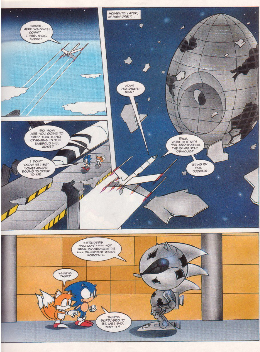 Sonic - The Comic Issue No. 006 Page 6