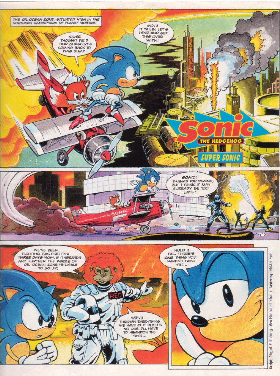 Sonic - The Comic Issue No. 007 Page 2