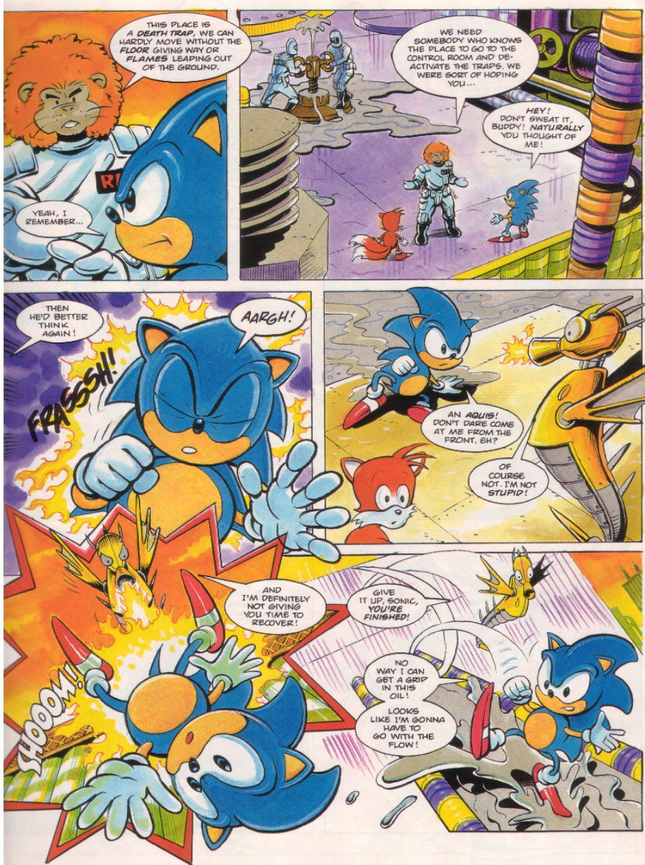 Sonic - The Comic Issue No. 007 Page 4