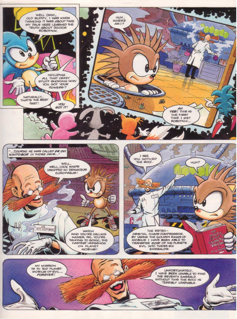Sonic - The Comic Issue No. 008 Page 4