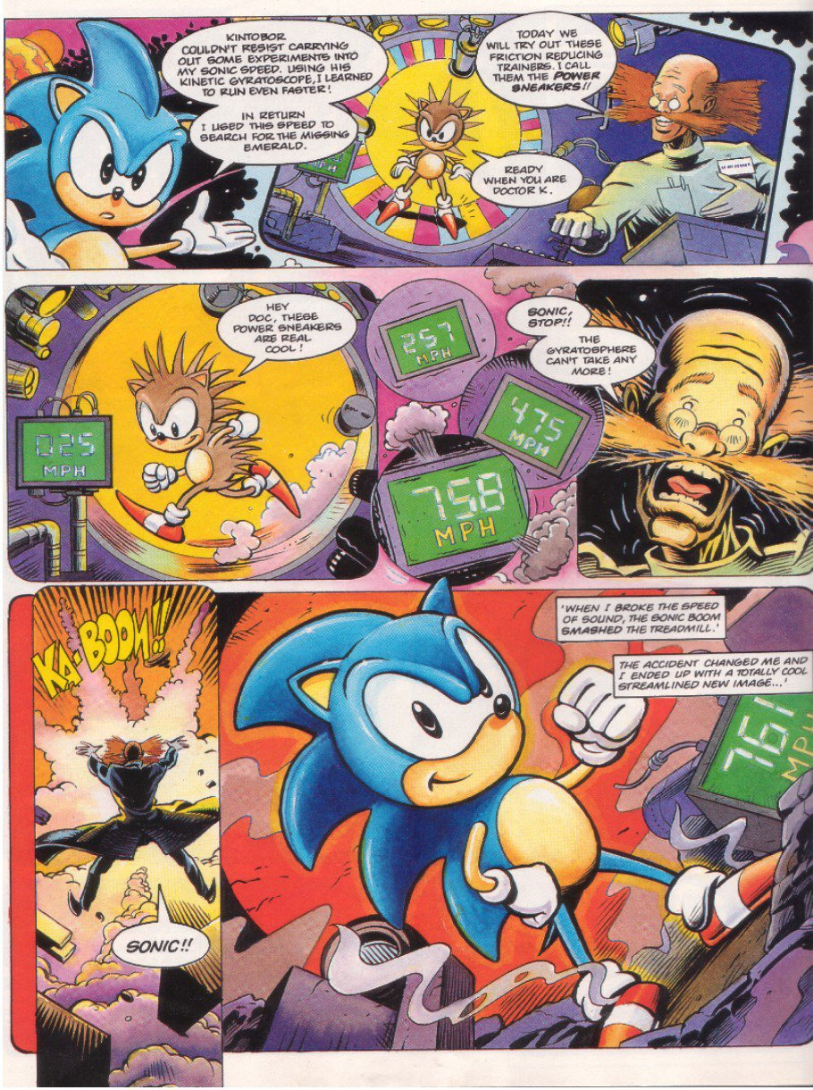 Sonic - The Comic Issue No. 008 Page 5