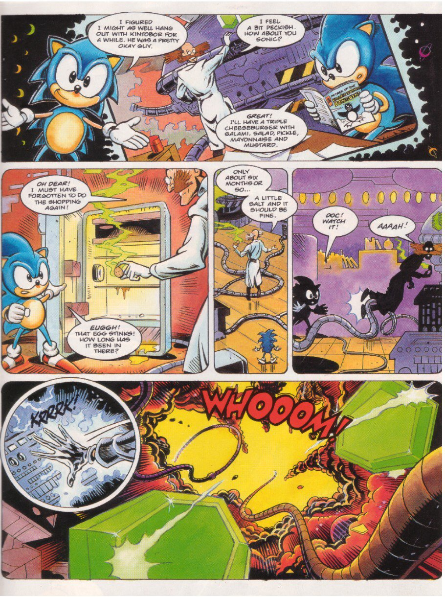 Sonic - The Comic Issue No. 008 Page 6