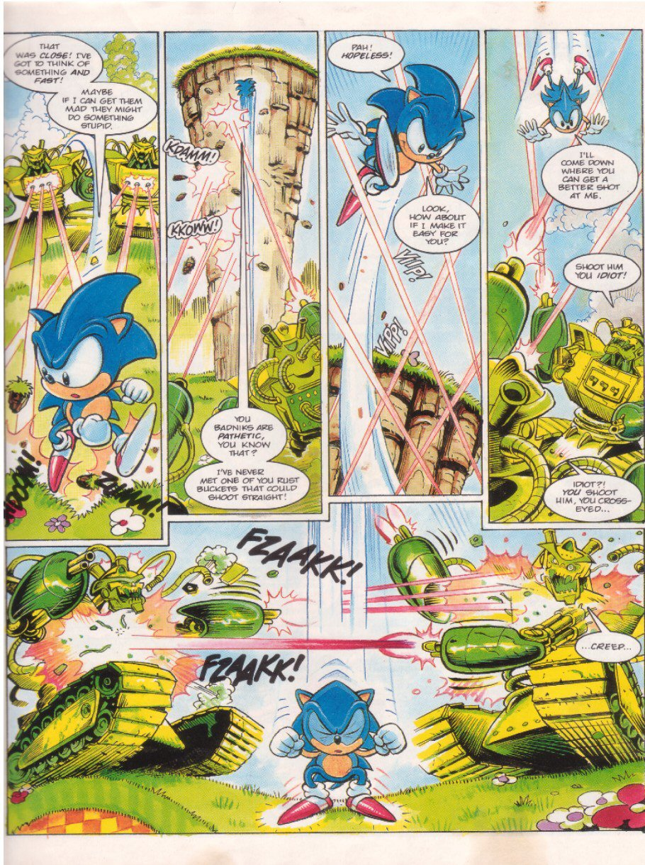 Sonic - The Comic Issue No. 009 Page 4
