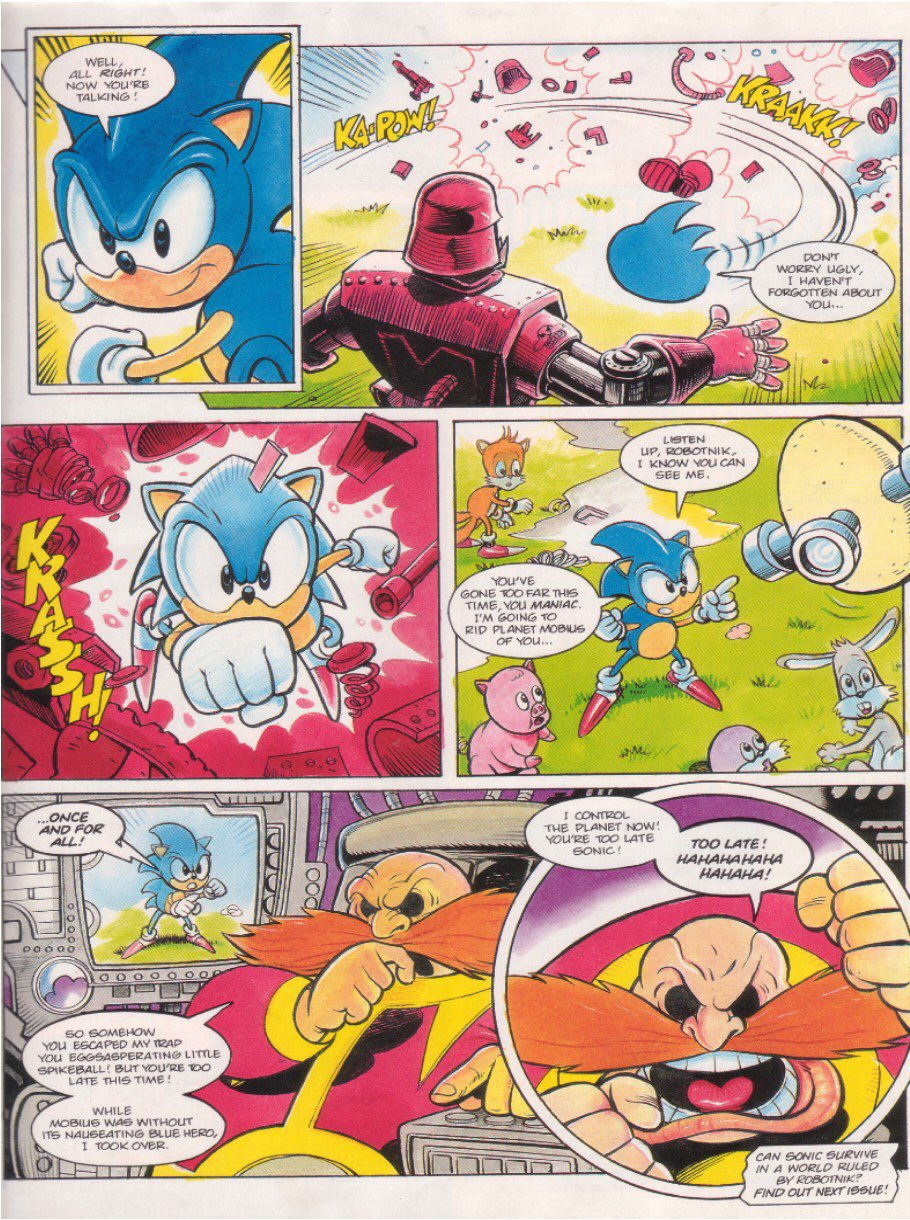 Sonic - The Comic Issue No. 009 Page 8