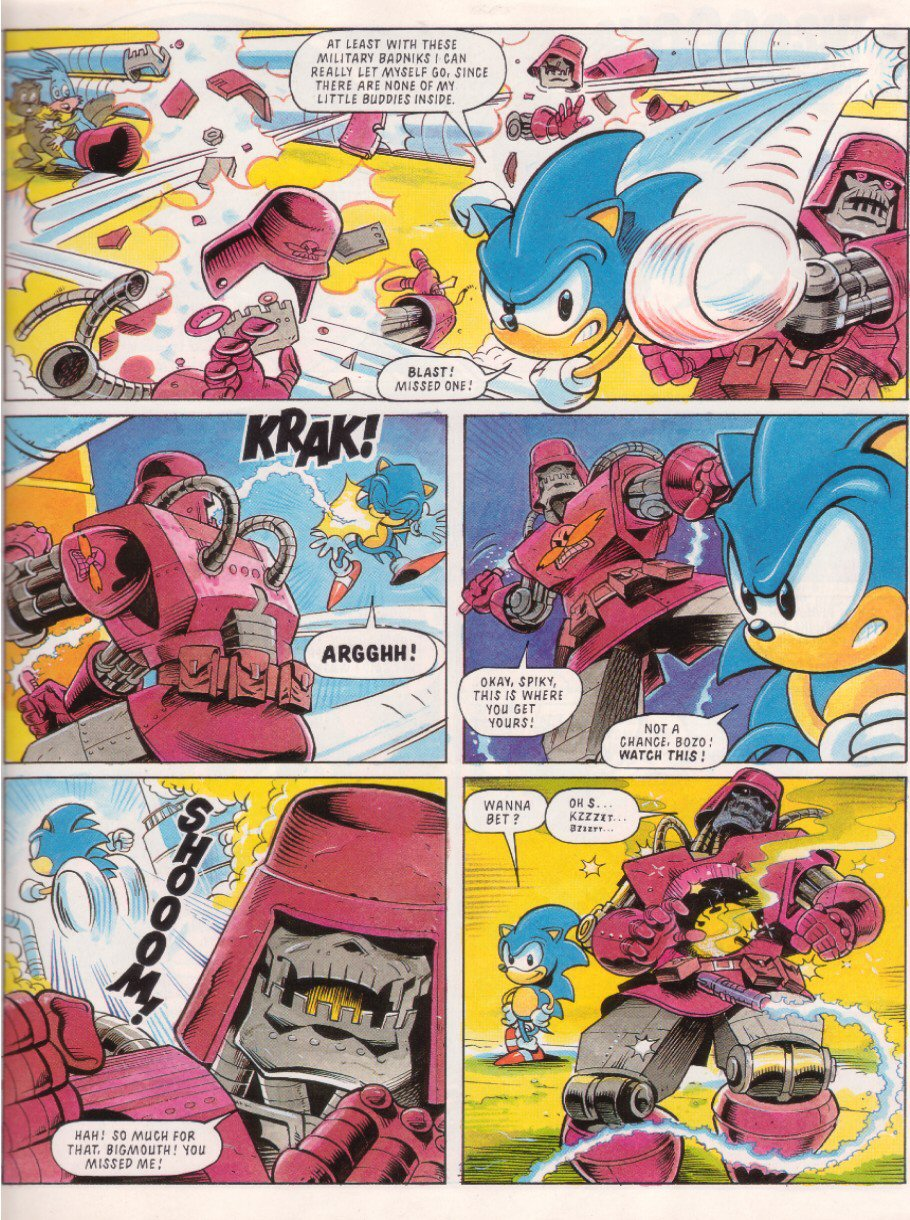 Sonic - The Comic Issue No. 010 Page 4