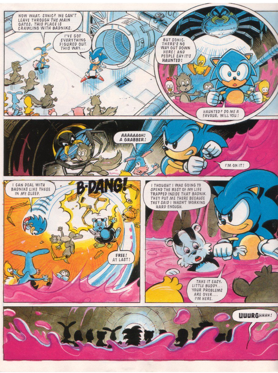 Sonic - The Comic Issue No. 010 Page 5