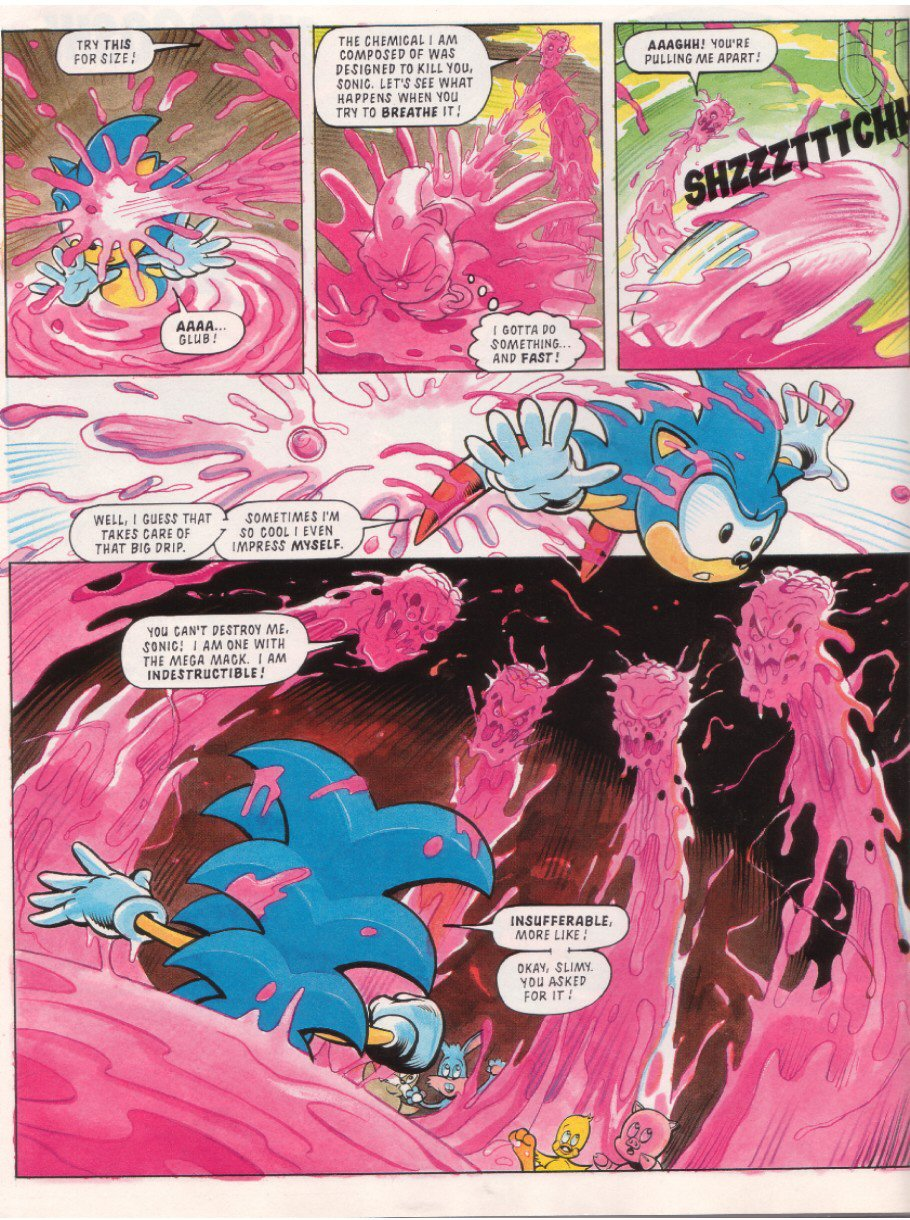 Sonic - The Comic Issue No. 010 Page 7
