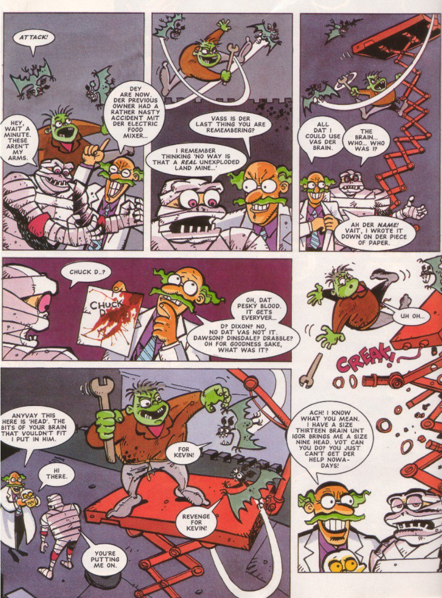 Sonic - The Comic Issue No. 010 Page 27