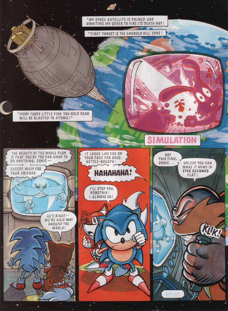Sonic - The Comic Issue No. 011 Page 3