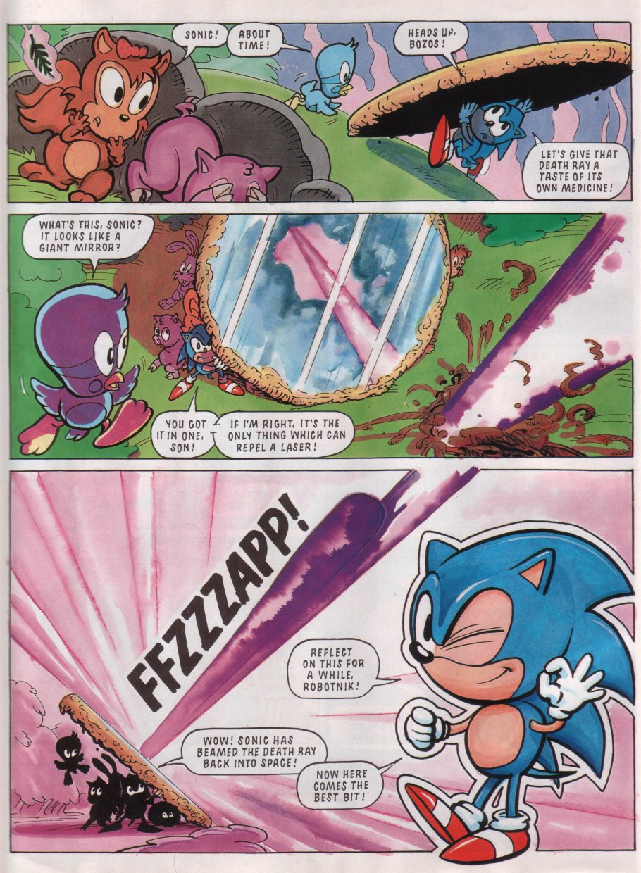 Sonic - The Comic Issue No. 011 Page 7