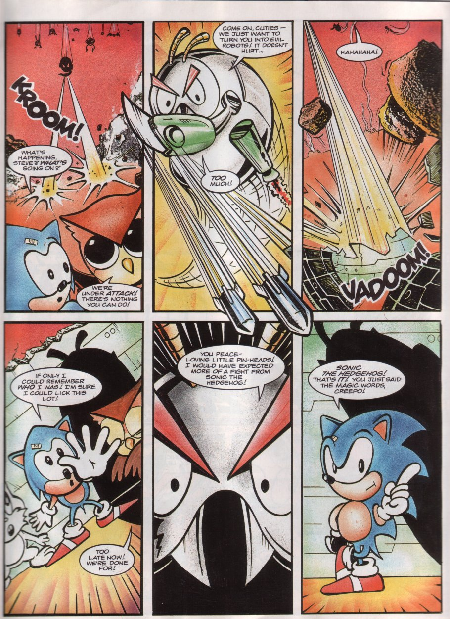 Sonic - The Comic Issue No. 012 Page 6