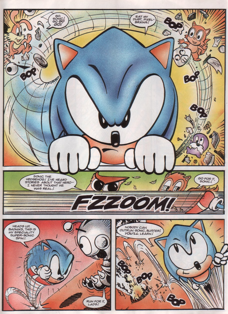 Sonic - The Comic Issue No. 012 Page 7