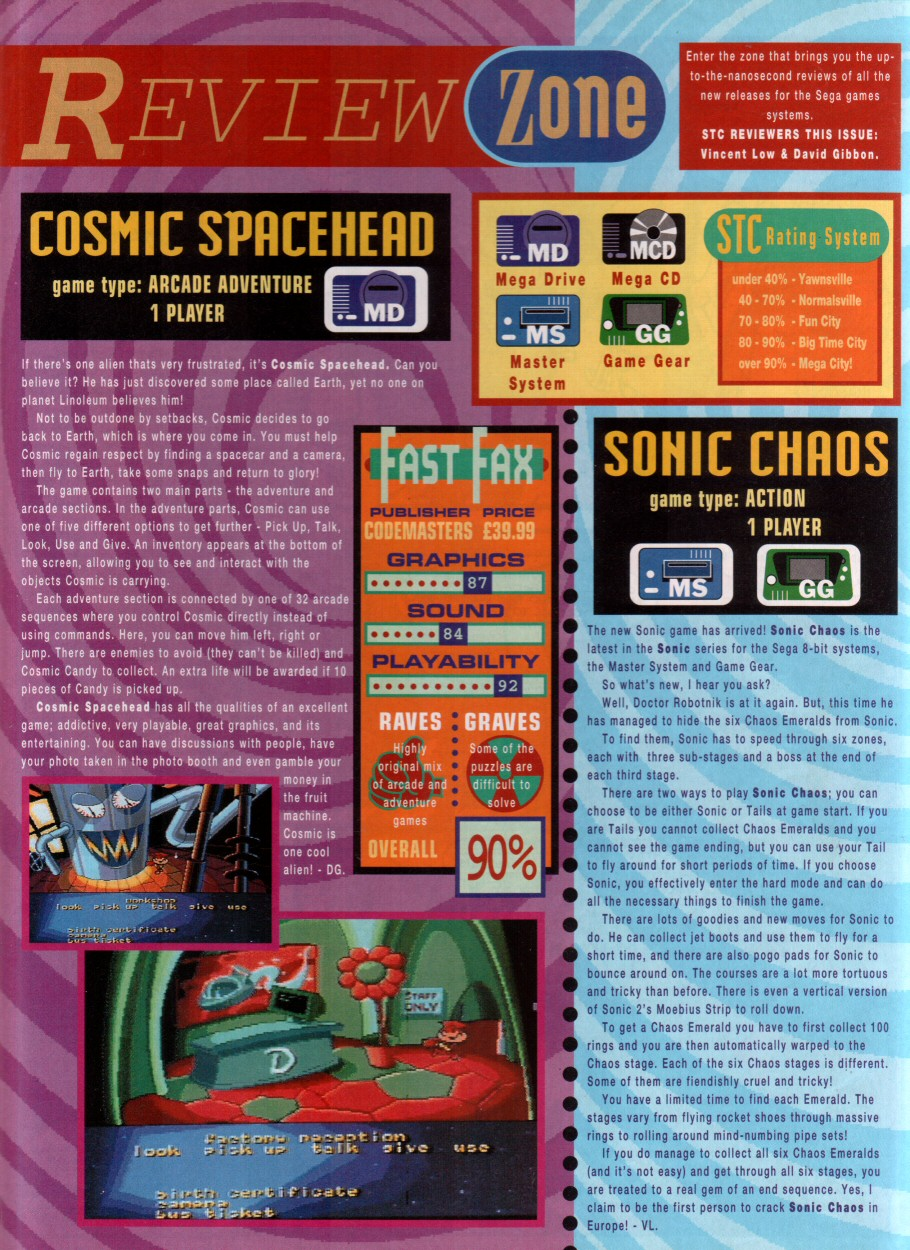Sonic - The Comic Issue No. 012 Page 9