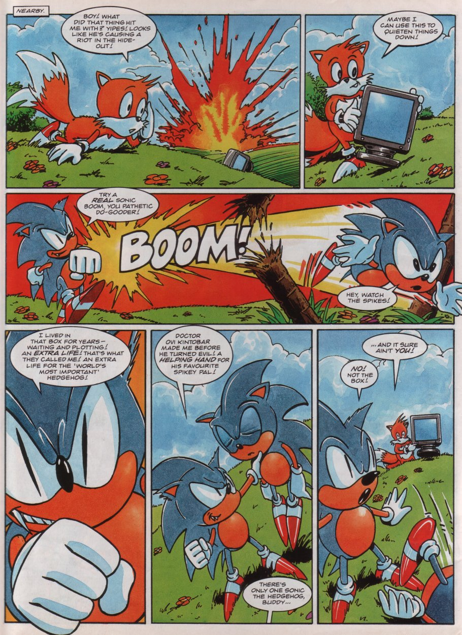 Sonic - The Comic Issue No. 013 Page 7