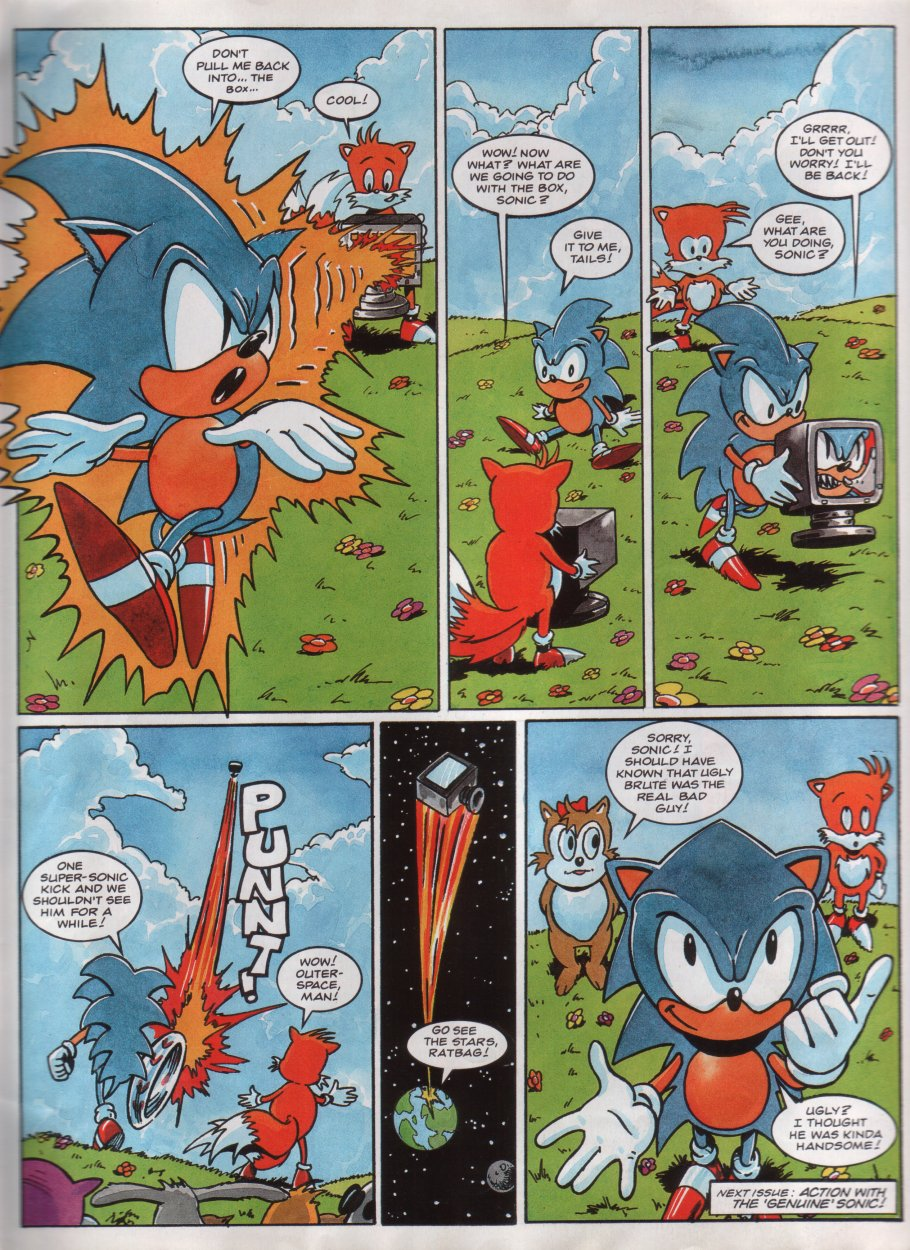 Sonic - The Comic Issue No. 013 Page 8