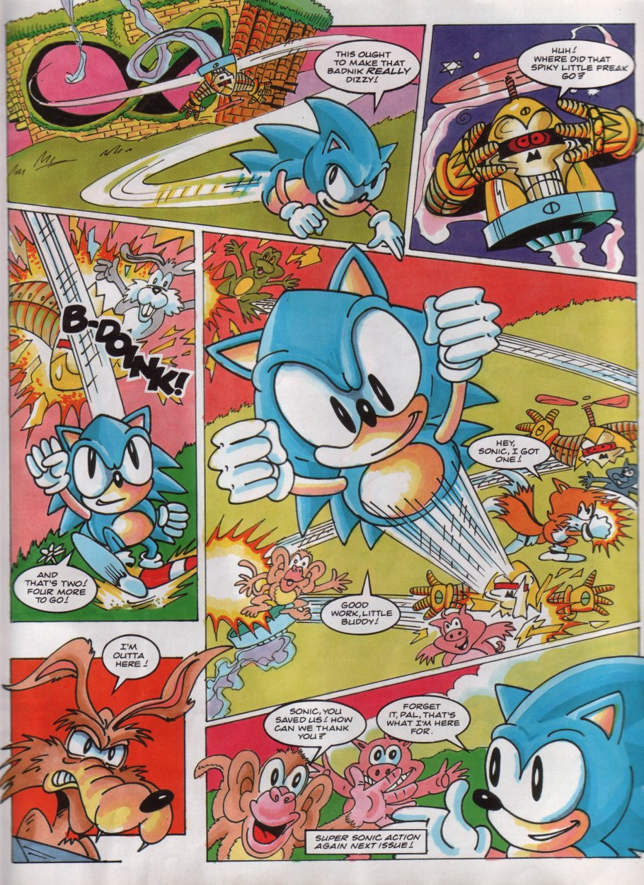 Sonic - The Comic Issue No. 014 Page 7