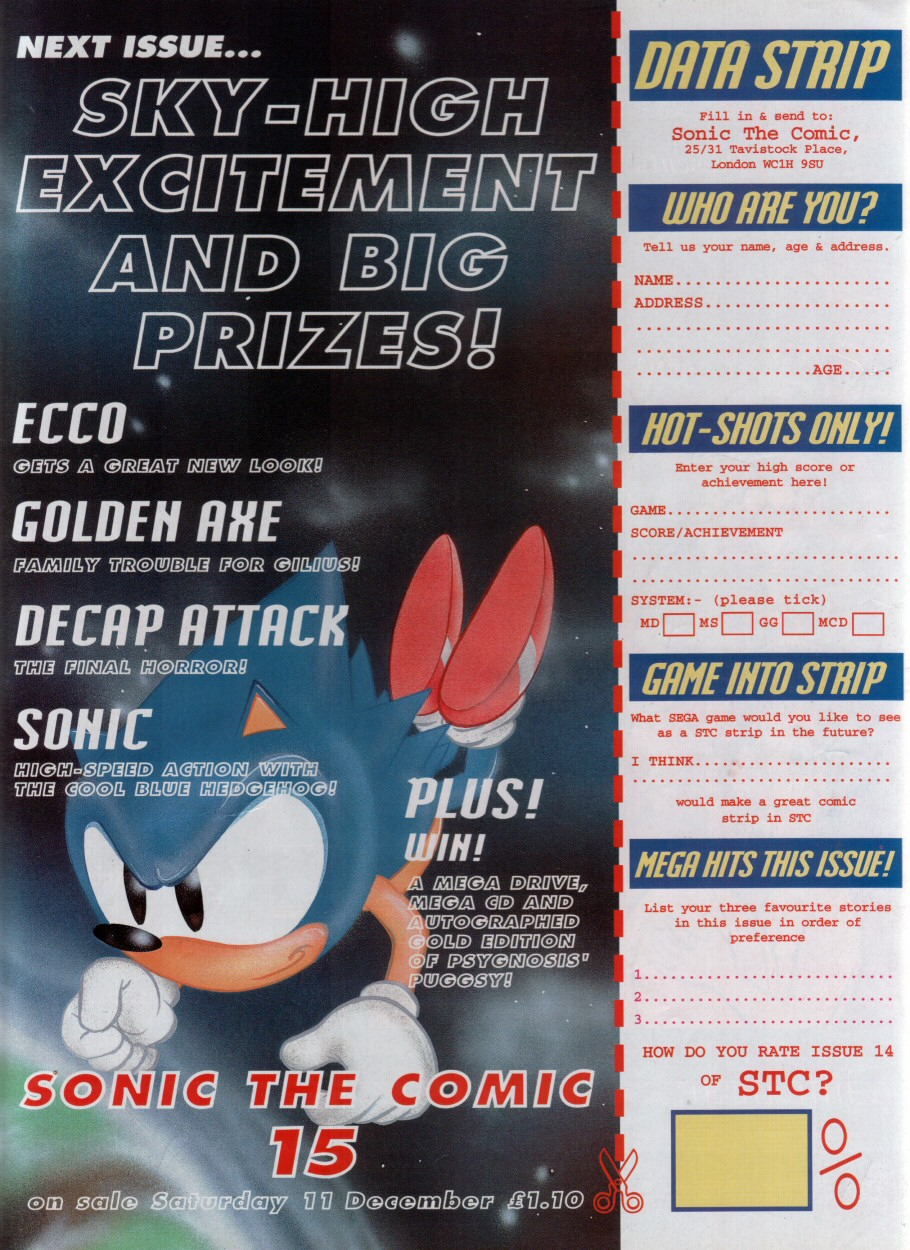 Sonic - The Comic Issue No. 014 Page 30