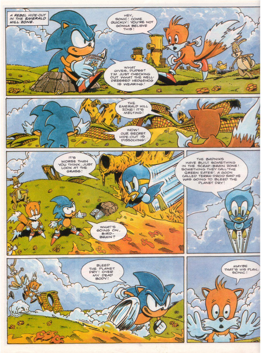 Sonic - The Comic Issue No. 015 Page 3