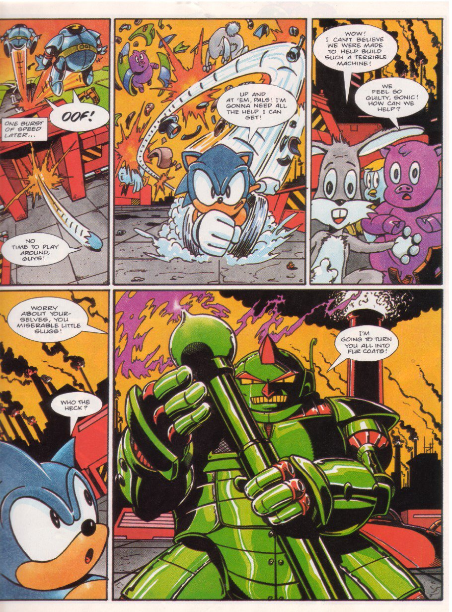 Sonic - The Comic Issue No. 015 Page 4