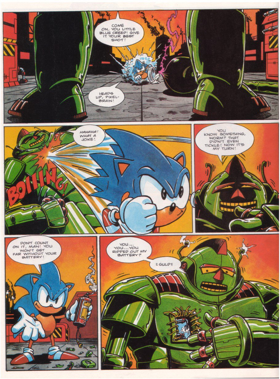 Sonic - The Comic Issue No. 015 Page 7