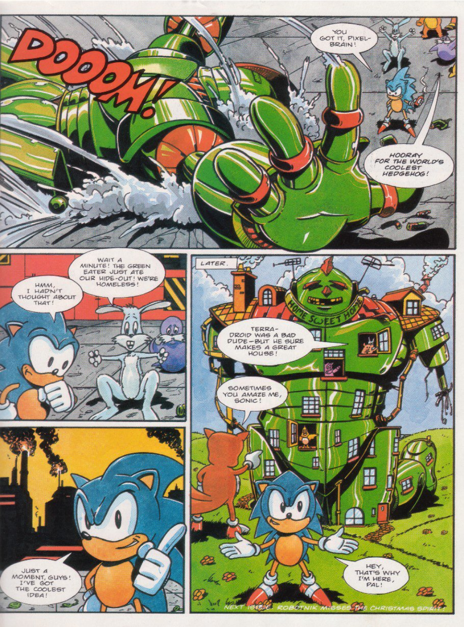 Sonic - The Comic Issue No. 015 Page 8