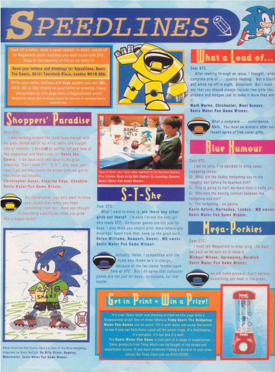Sonic - The Comic Issue No. 015 Page 29