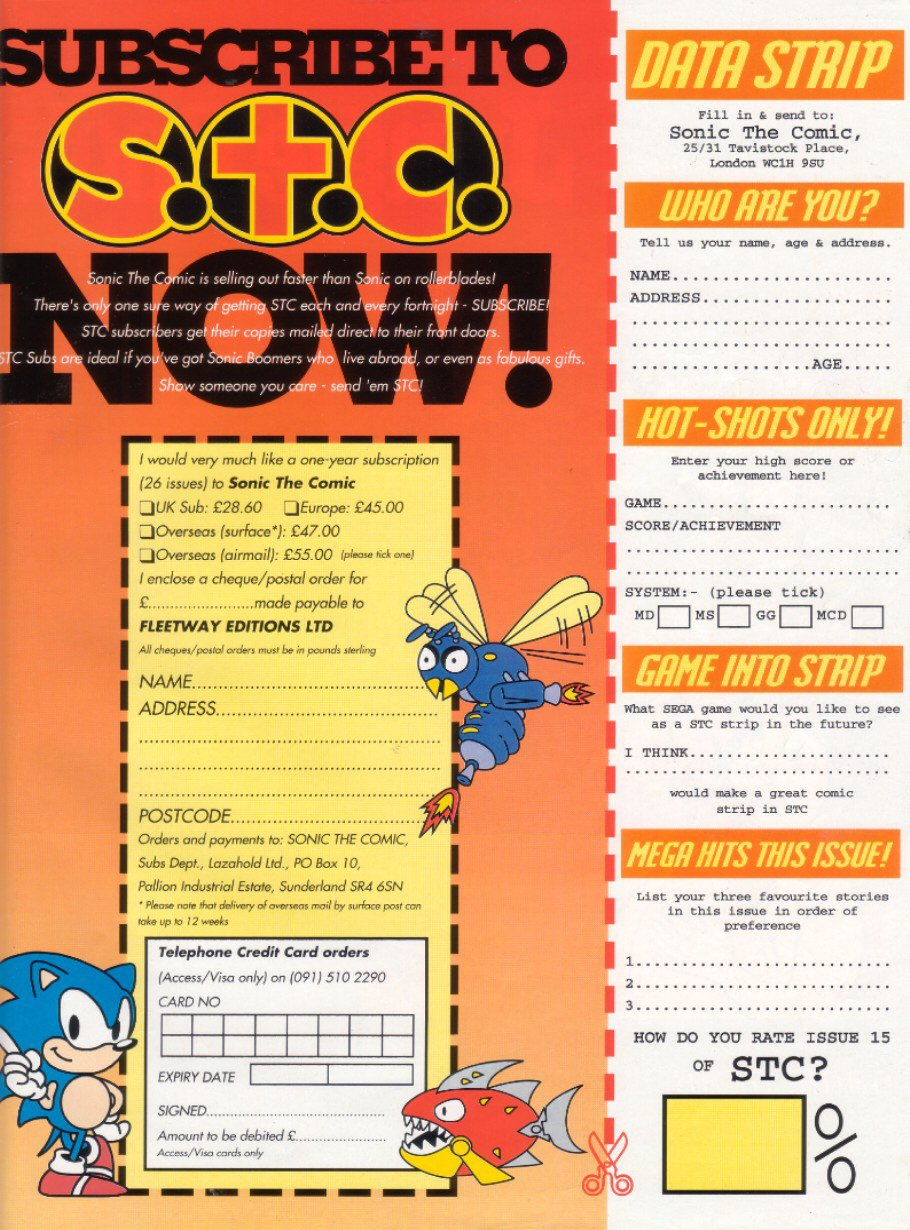 Sonic - The Comic Issue No. 015 Page 30