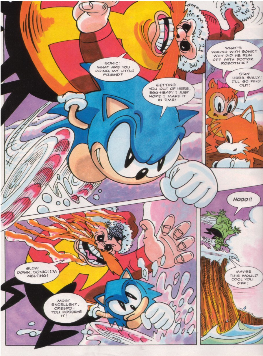 Sonic - The Comic Issue No. 016 Page 5