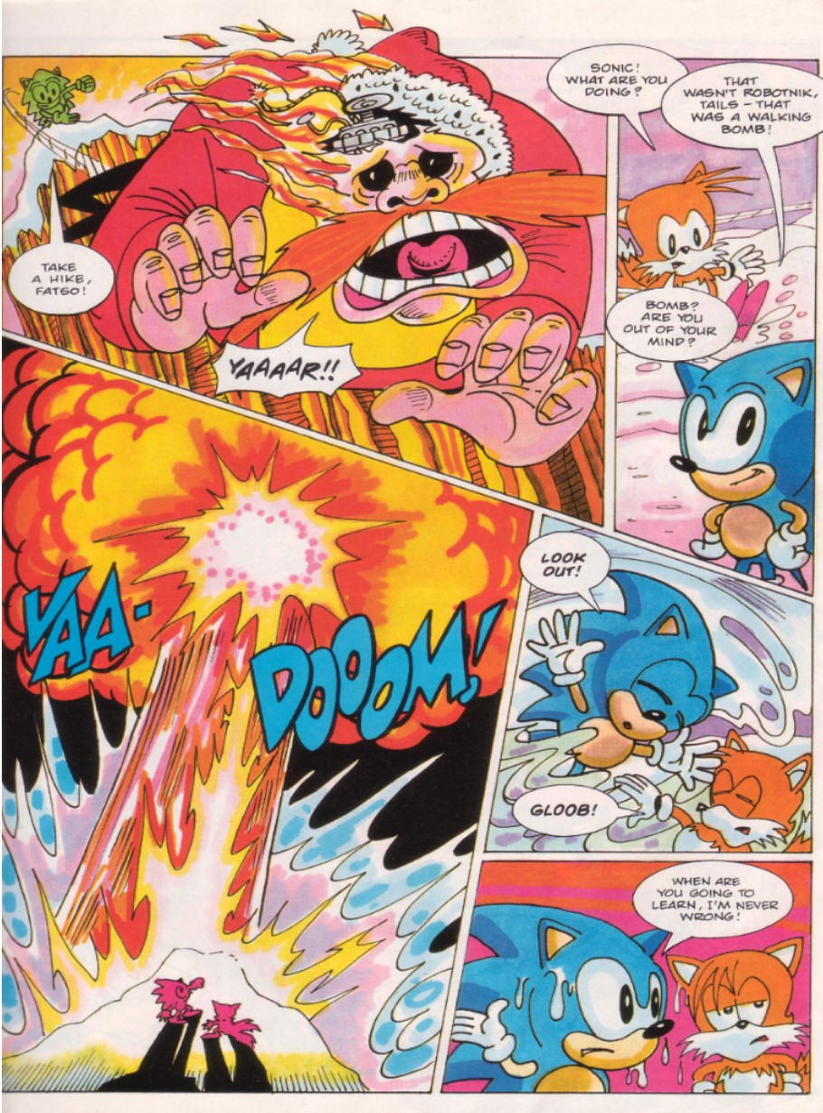 Sonic - The Comic Issue No. 016 Page 6