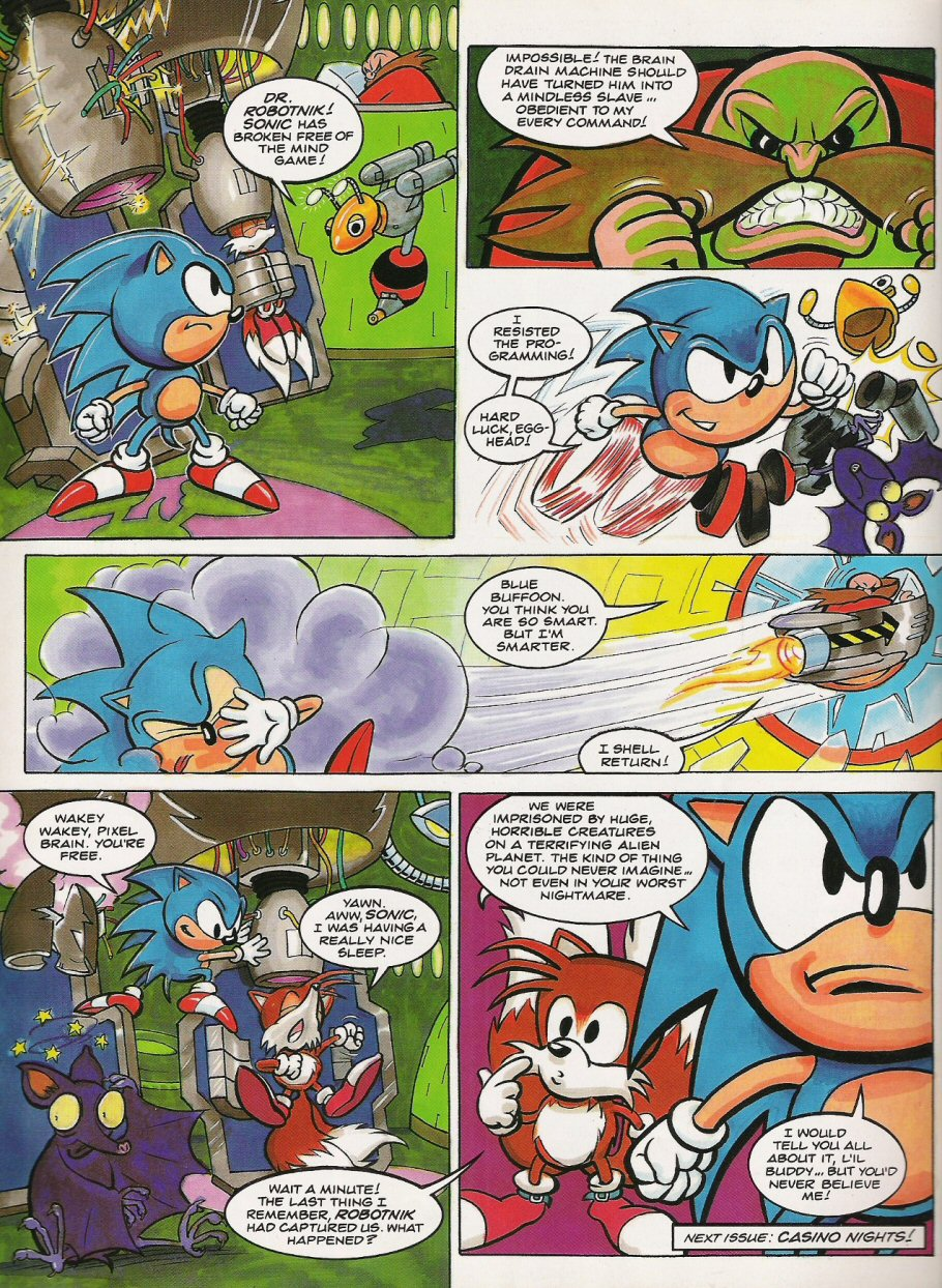 Sonic - The Comic Issue No. 017 Page 8