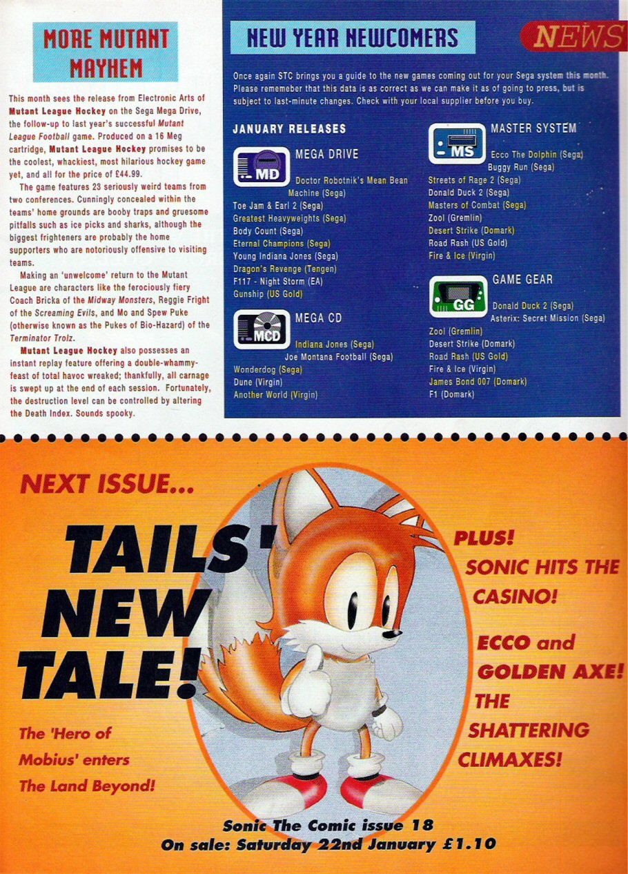 Sonic - The Comic Issue No. 017 Page 17