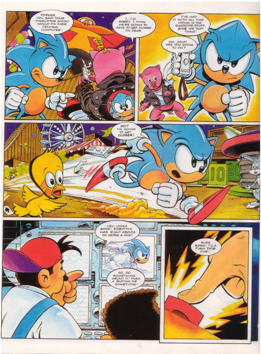 Sonic - The Comic Issue No. 018 Page 5