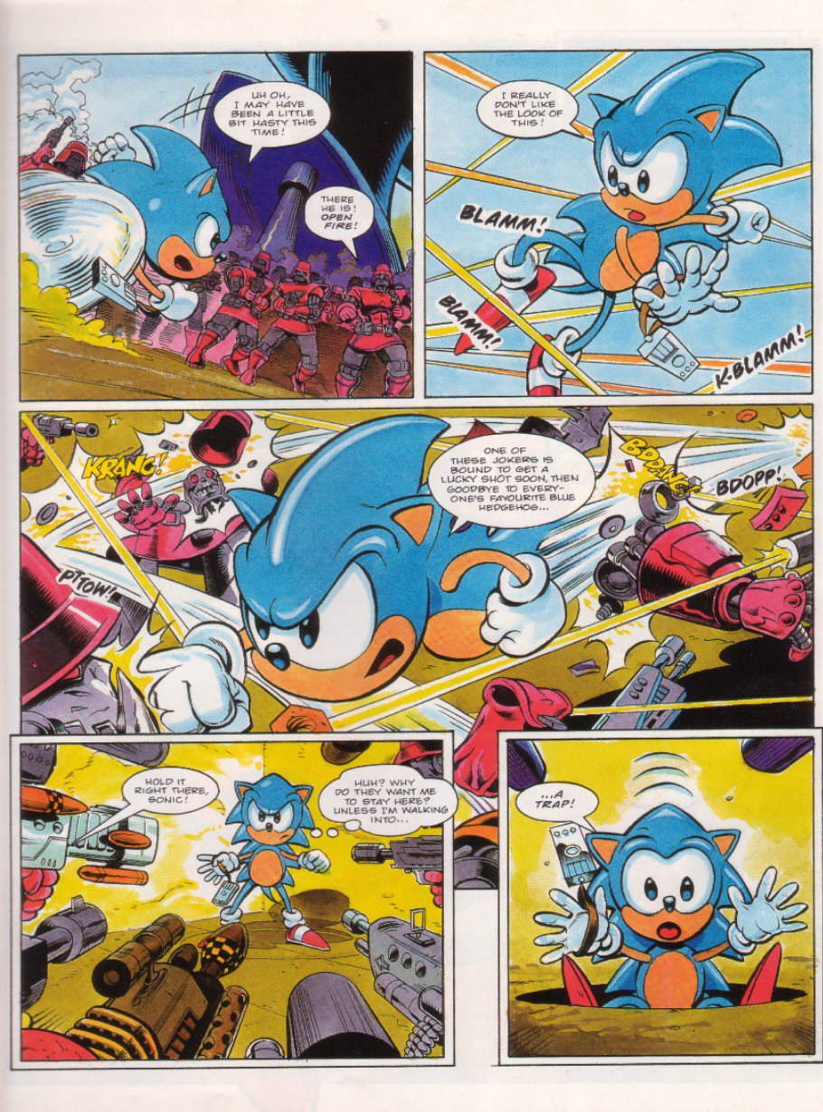 Sonic - The Comic Issue No. 018 Page 6