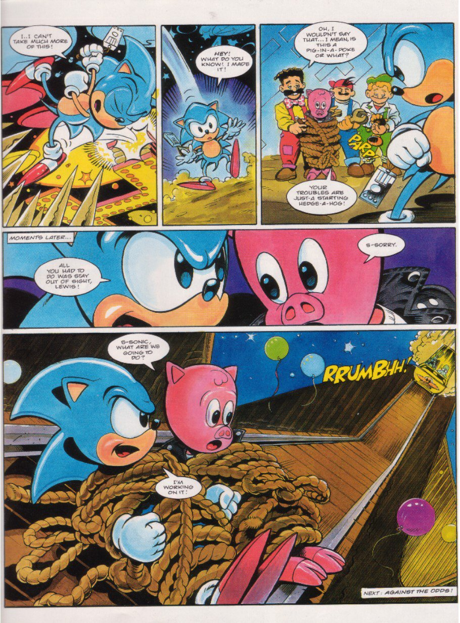 Sonic - The Comic Issue No. 018 Page 8