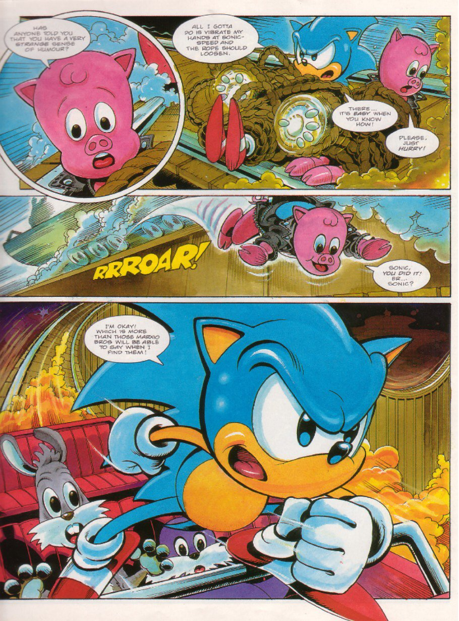 Sonic - The Comic Issue No. 019 Page 4