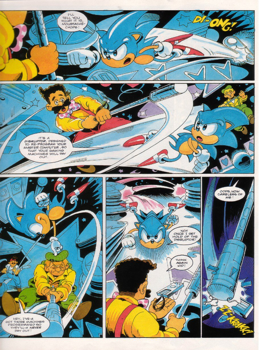 Sonic - The Comic Issue No. 019 Page 6